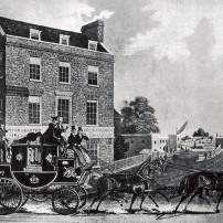 Kew Bridge Turnpike, 1833.