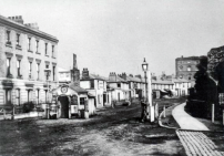 Kilburn Turpike. The site is now overlooked by the Marriott Maida Vale hotel.