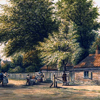 Kings Road Turnpike. Until the 1830s, the Kings Road was a private route reserved for the monarch. Any traveller wishing to use this exclusive route required a special token.