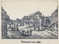 Kingsland Road, Hackney Turnpike (image: Look and Learn).