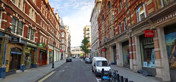 Southampton Street today (image: Google).