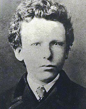 Vincent van Gogh, aged 13.