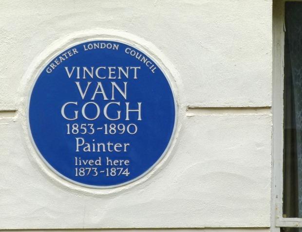 Van Gogh Plaque