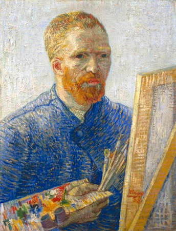 Vincent van Gogh, 1853-1890 (self portrait painted 1888).