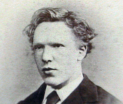 Vincent van Gogh, aged 19- shortly before his transfer to London.