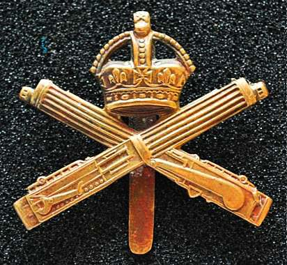 Machine Gun Corps badge (image: Wikipedia).