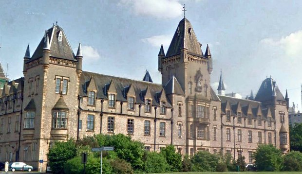 The former 3rd London General Hospital today... now known as the Royal Victoria Patriotic Building (image: Google).