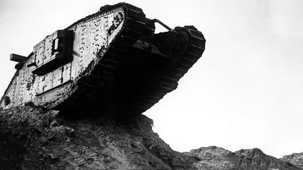 A WWI Tank.