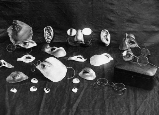 Bits and bobs from Derwent Wood's 'Tin Nose Shop' (image: The Imperial War Museum).