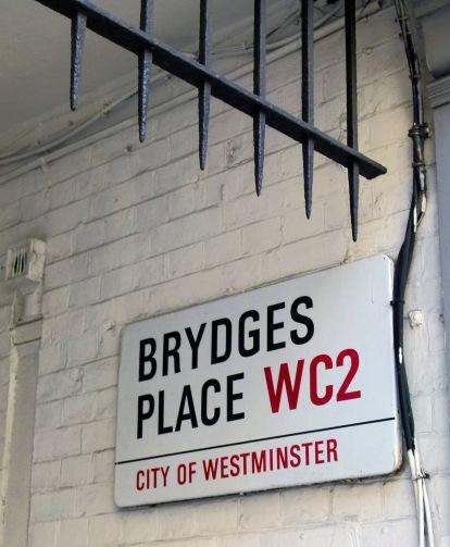 Bedfordbury End Sign