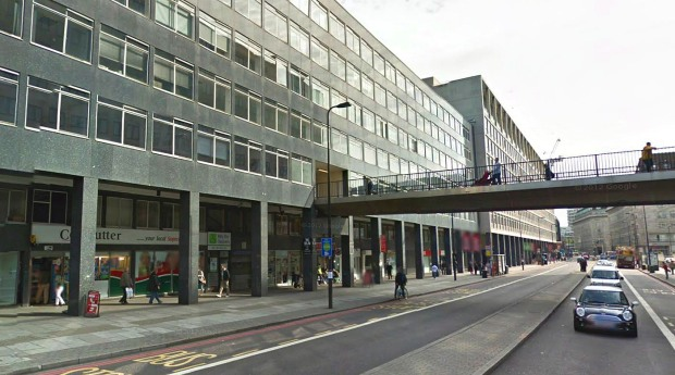 York Road today- Waterloo's original facade is now obscured by late 20th century office blocks (image: Google).