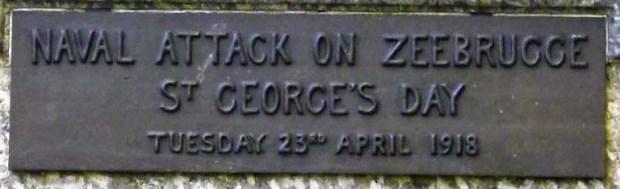 Zebrugge Plaque