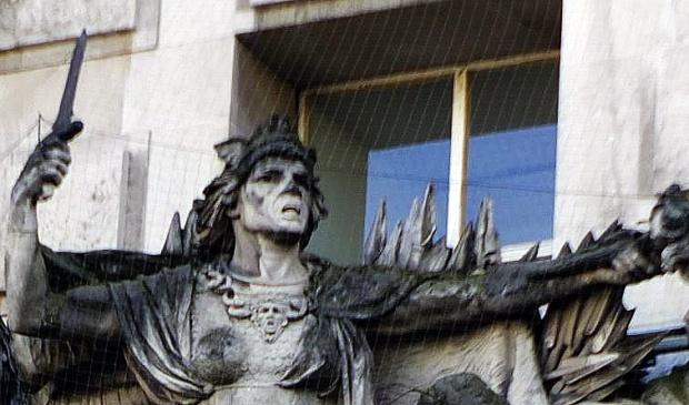 Bellona...Roman goddess of war.