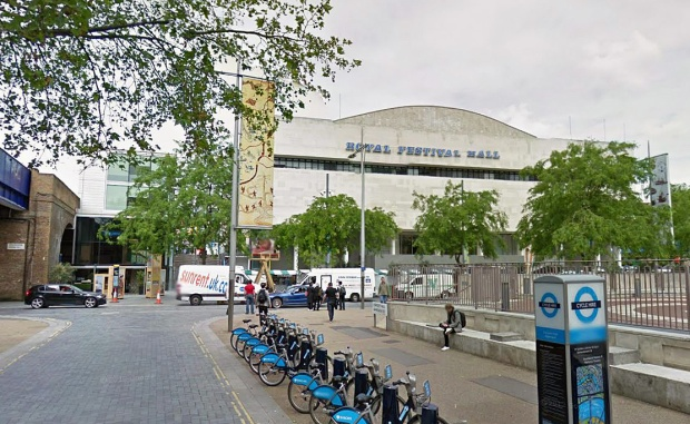 The Royal Festival Hall... where Eleanor Coade's factory once stood