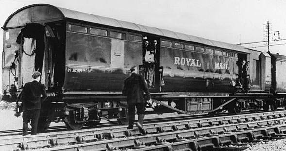 Scene of the crime.... a Royal Mail carriage which was at the centre of the 1963 heist (image: Associated Press)