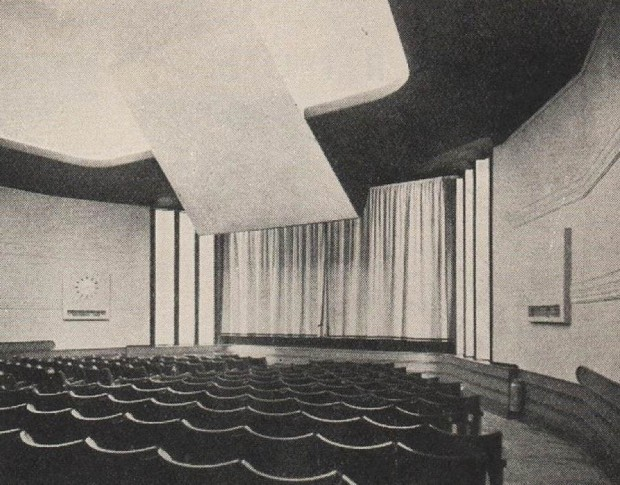 Waterloo Cinema auditorium, 1934 (image: Cinema Treasures)