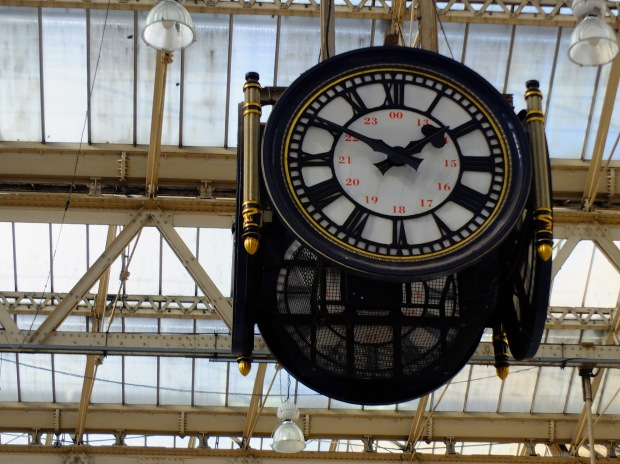 Waterloo's main clock