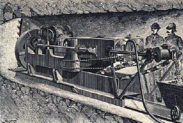 The 1880s Channel digger