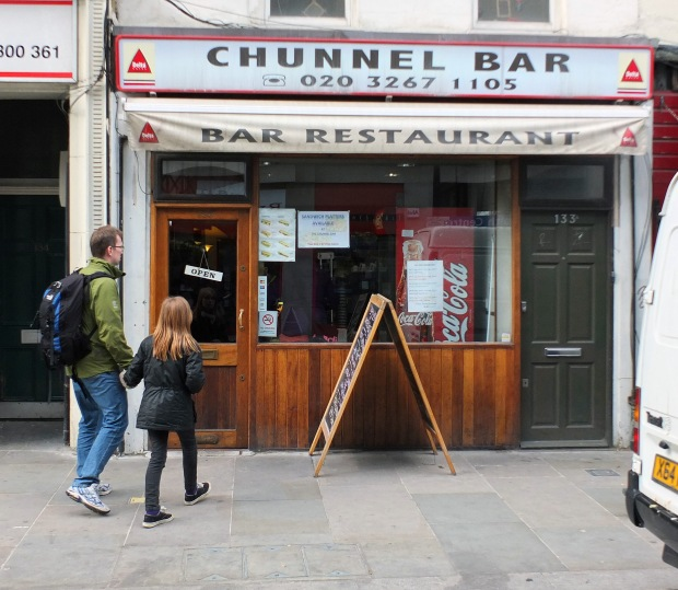 The Chunnel Bar, Lower Marsh, Waterloo