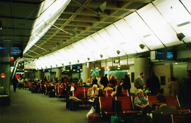 Waterloo International's departure lounge (image: Geograph)