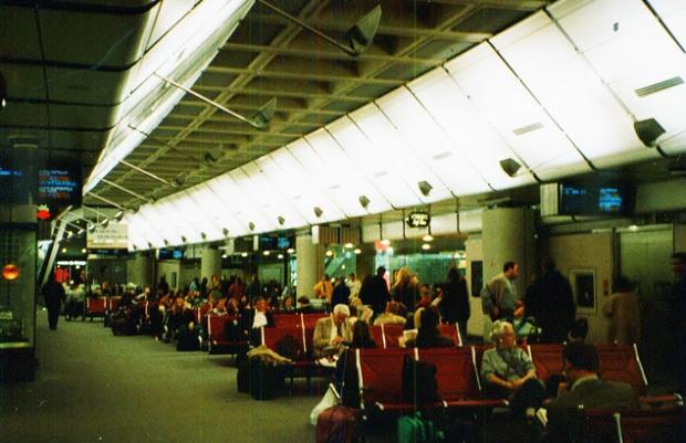 Waterloo International's departure lounge (image: Geograph)
