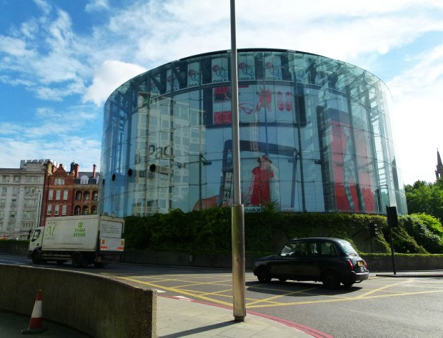 The IMAX cinema which now occupies the Bullring