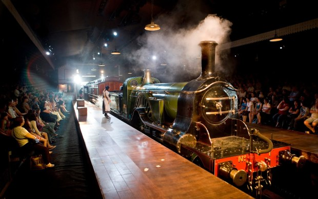 'The Railway Children' at Waterloo (image: Theatre Thoughts)