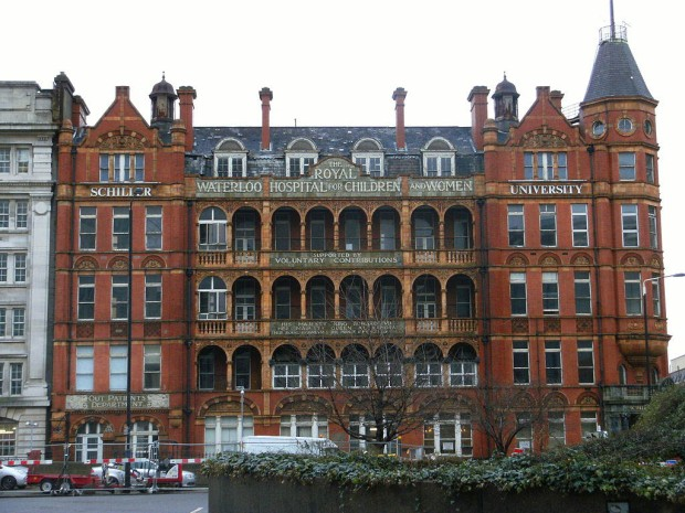 Royal Waterloo Hospital for Children and Women (image: Wikipedia)