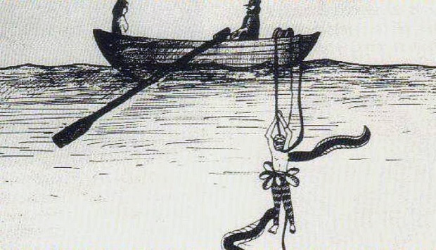 Thome de Gammond plunging beneath the Channel... (image: tunnel-sous-la-manche-skyrock.com)