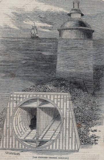 Cross section of Thome de Gamond's vision