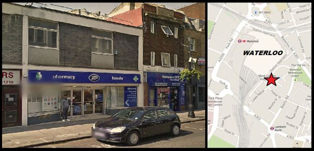 Boots on Lower Marsh today (image: Google)