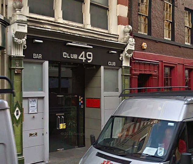 The site today- now known as Club 49