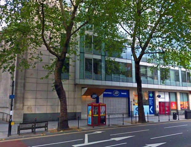 The location of 129 Kingsway today (image: Google)