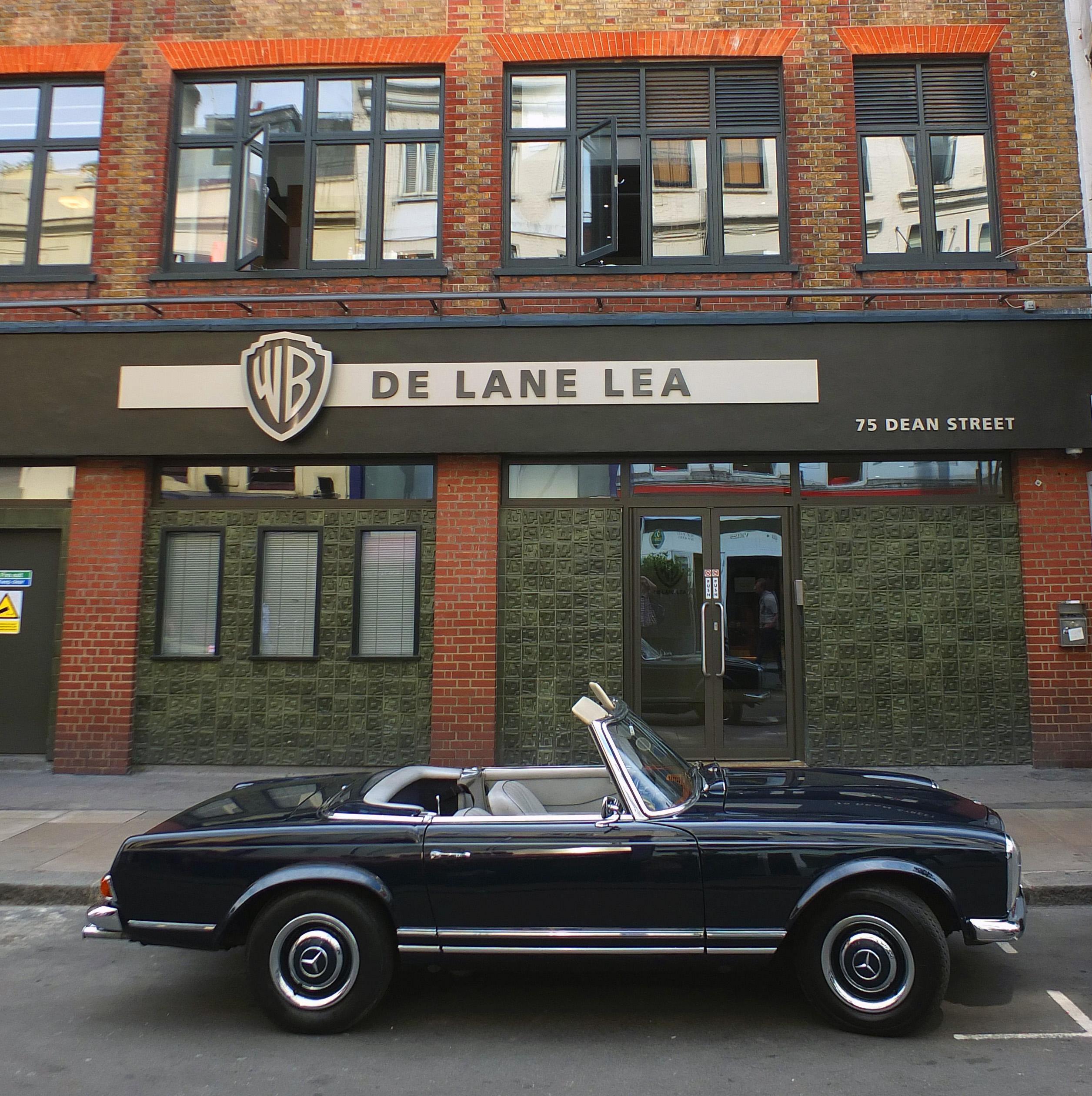 The current De Lane Lea studio, Dean Street