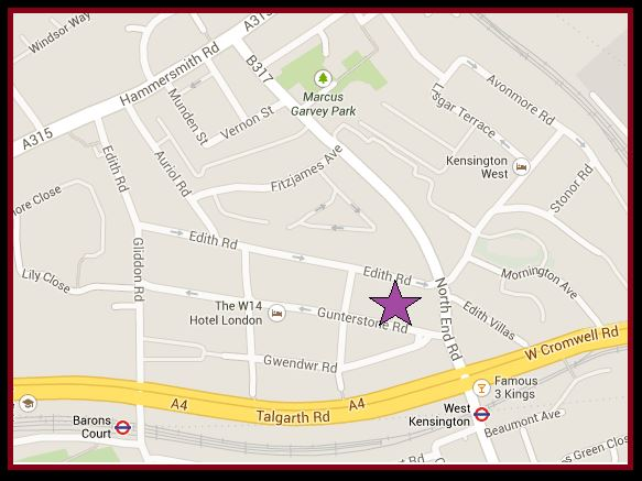 Gunterstone Road Map