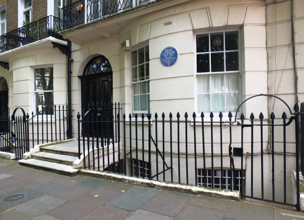 34 Montagu Square today
