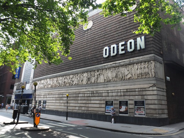 The former Saville Theatre today- now an Odeon cinema
