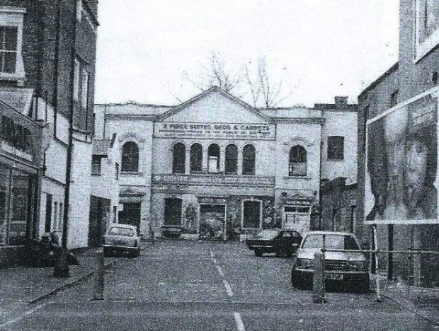 The former Upper Cut club as it appeared in 1991 (image: E7 Then and Now)