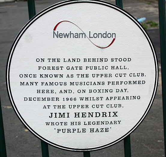 Plaque installed by Newham Council (image: E7 Then and Now)
