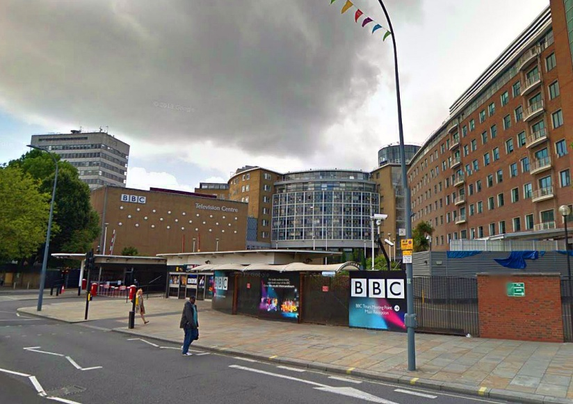 BBC Television Centre, Wood Lane (image: Google)