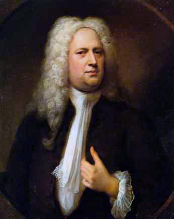 George Frideric Handel (portrait by Balthasar Denner, 1733)