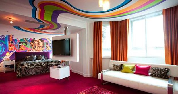 The Cumberland's Jimi Hendrix suite (image: Guoman Hotels)