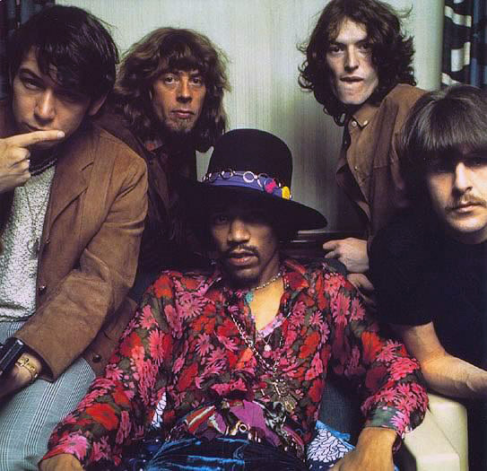 Jimmy Hendrix with Eric Bourdon and War