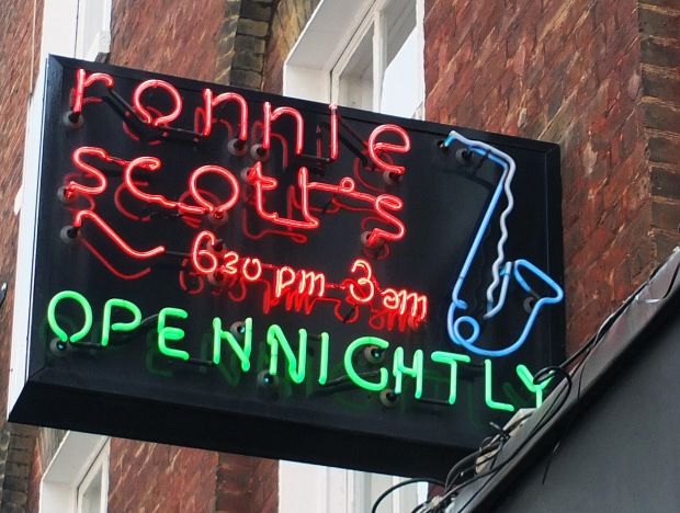 Ronnie Scotts Sign
