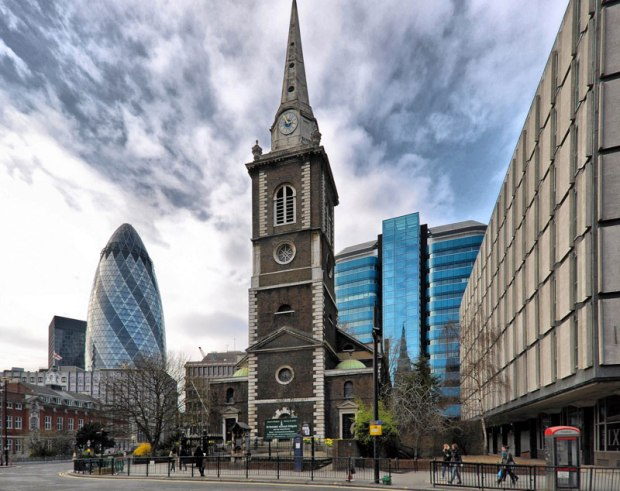 St Botolph's Without Aldgate (image: stbotolphs.org.uk)