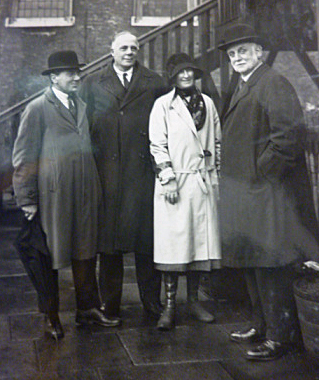 Ada Salter with George Lansbury in 1930 (image: Southwark Local History Library & Archive)