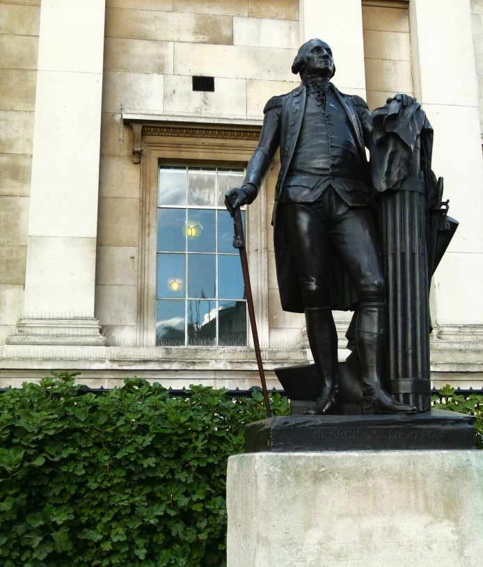 George Washington Statue, Trafalgar Square