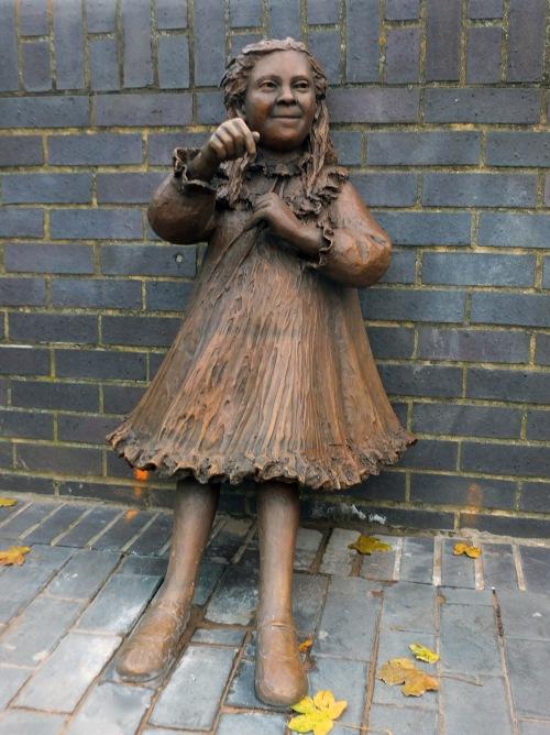 Statue of Joyce