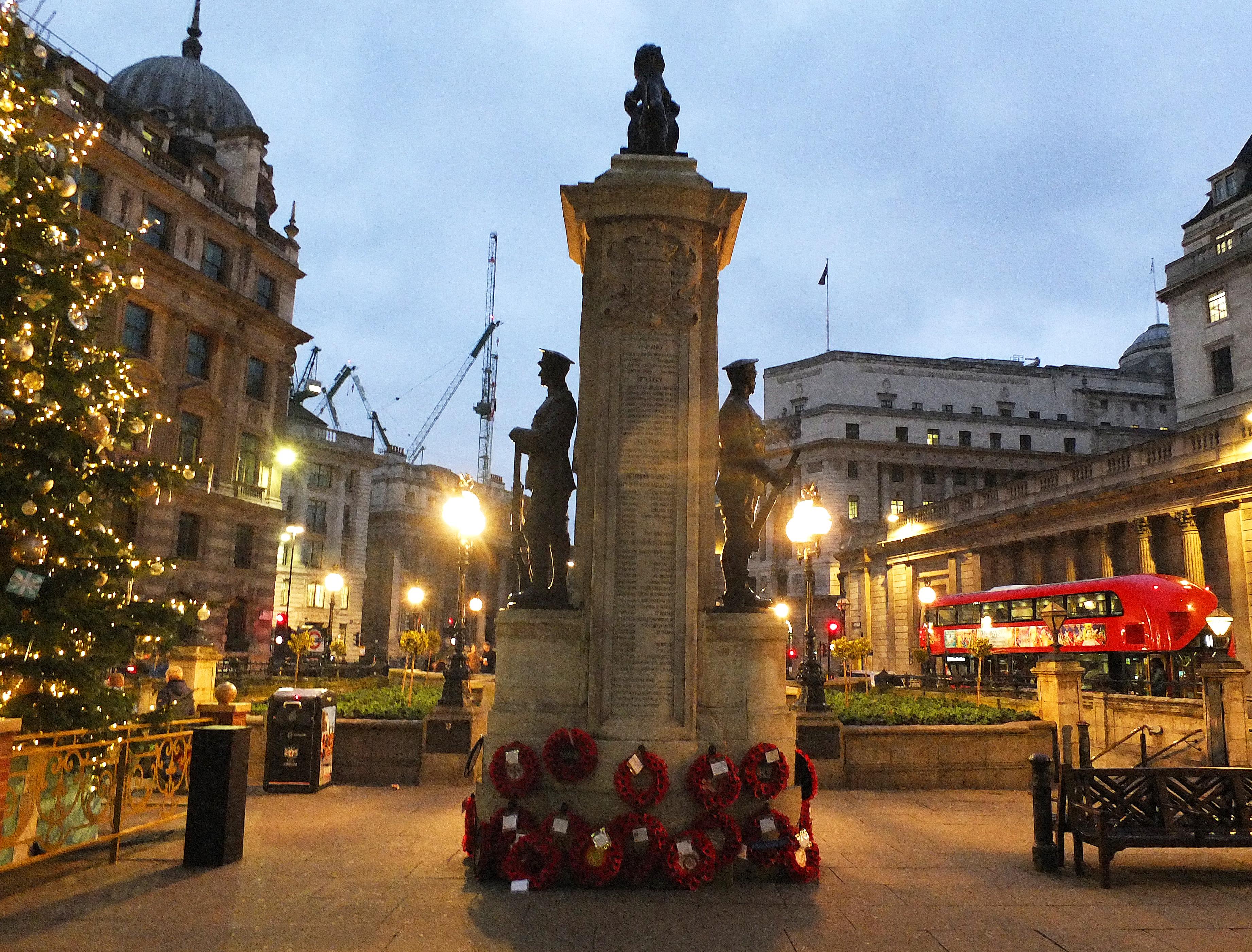 2 Brydges Place London Memorial