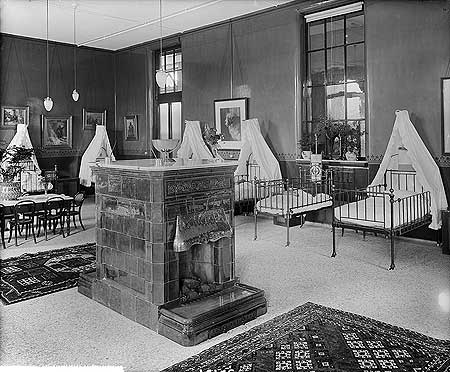 London Temperance Hospital children's ward, 1897 (image: English heritage)